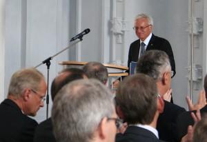 Prof. Grueske at DIRS Opening