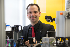 Dr. Andreas Bräuer from the Chair of Technical Thermodynamics (Image: Erich Malter)