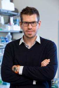 Dr. Gerhard Krönke from the Chair of Internal Medicine III (Image: Erich Malter)