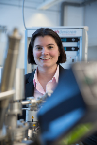 Prof. Dr. Sabine Maier, Junior Professor of Experimental Physics (Image: Erich Malter)