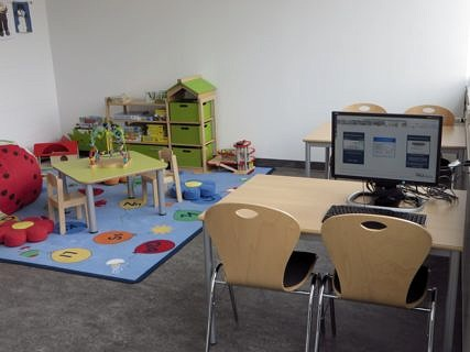 Main Library: parent and child room (image: FAU/Christoph Ackermann)