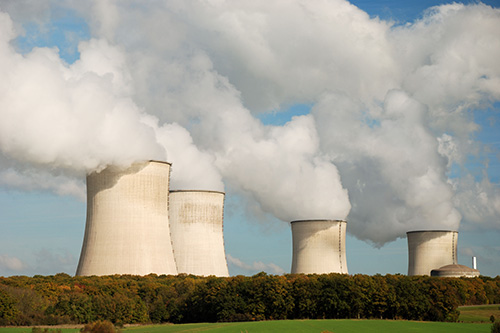 Nuclear industry waste product as a catalyst for producing hydrogen