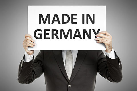 sign: made in germany