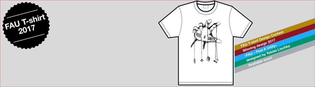 Gewinner T-Shirt-Designwettbewerb 2017
