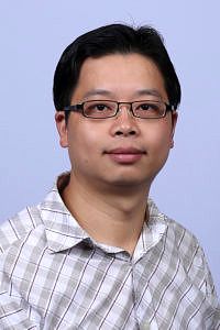 Dr. Xiaoming He furthers his research at FAU´s Chair for Computer Science 10 (System Simulation) from March to August 2018. (Image: Sam O´Keefe)
