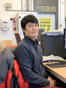 Humboldt Research Fellow Dr. Sungwhan Shin (Image: Francesco Greco)