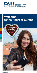"Cover of the brochure ""Welcome to the heart of Europe""."
