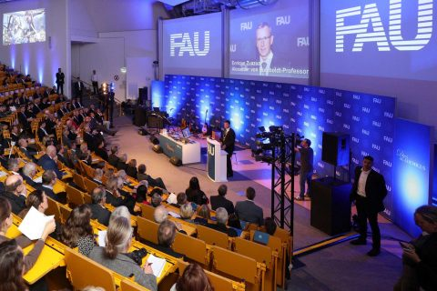 "Towards entry ""FAU celebrates its 276th anniversary 'Dies academicus' in Nuremberg"""