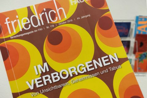 "Towards entry ""friedrich – the FAU research magazine"""