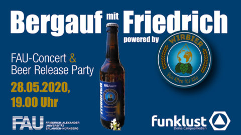"Towards entry ""'Bergauf': Online opening of Bergkirchweih with 'Friedrich' beer"""