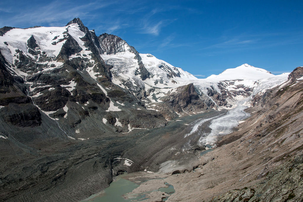 Pasterze Glacier at the Großglockner