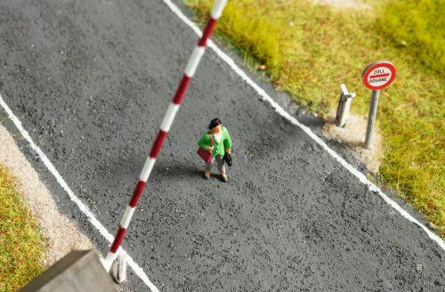 A woman on a street.