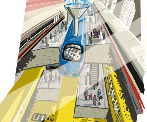 Illustration U-Bahn