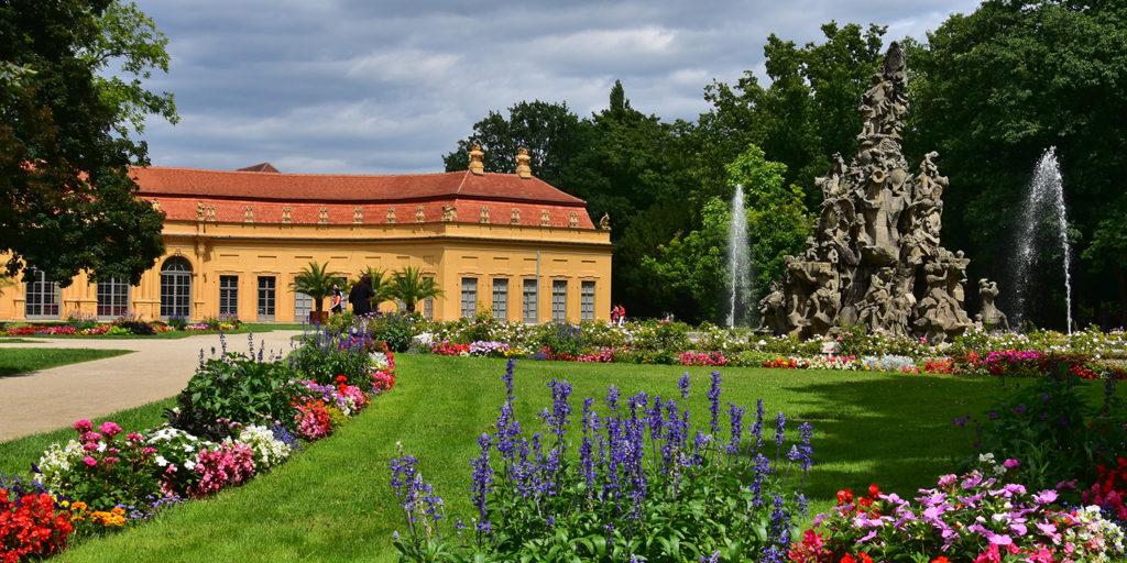 Schlossgarten in Erlangen